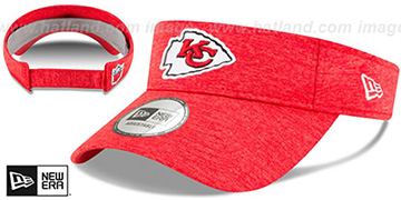 Chiefs 18 NFL STADIUM Red Visor by New Era