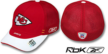 Chiefs 2007 DRAFT-DAY FLEX Hat by Reebok