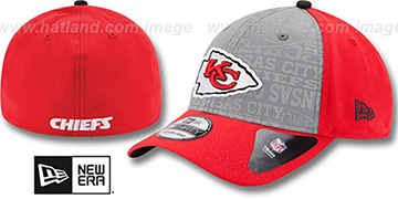 Chiefs '2014 NFL DRAFT FLEX' Red Hat by New Era