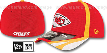 Chiefs '2014 NFL TRAINING FLEX' Red Hat by New Era