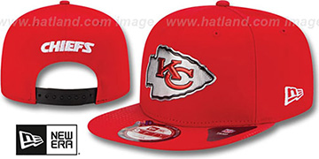 Chiefs '2015 NFL DRAFT SNAPBACK' Red Hat by New Era
