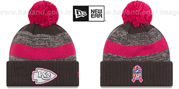 Chiefs 2016 BCA STADIUM Knit Beanie Hat by New Era