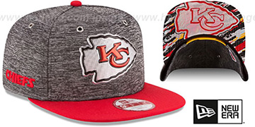 Chiefs '2016 NFL DRAFT SNAPBACK' Hat by New Era