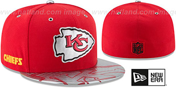 Chiefs '2017 SPOTLIGHT' Fitted Hat by New Era