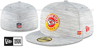 Chiefs 2020 ONFIELD STADIUM Heather Grey Fitted Hat by New Era