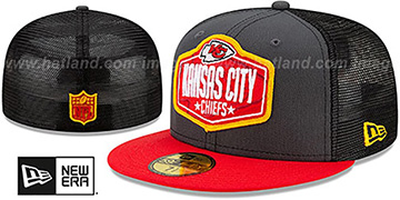 Chiefs '2021 NFL TRUCKER DRAFT' Fitted Hat by New Era