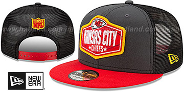 Chiefs 2021 NFL TRUCKER DRAFT SNAPBACK Hat by New Era