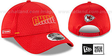 Chiefs COACHES TRAINING SNAPBACK Hat by New Era