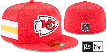 Chiefs HOME ONFIELD STADIUM Red Fitted Hat by New Era