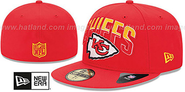 Chiefs 'NFL 2013 DRAFT' Red 59FIFTY Fitted Hat by New Era