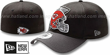 Chiefs NFL BLACK-CLASSIC FLEX Hat by New Era