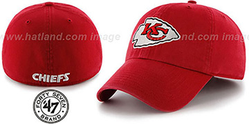 Chiefs NFL FRANCHISE Red Hat by 47 Brand