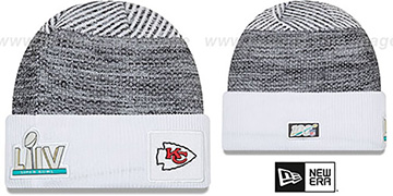 Chiefs NFL SUPER BOWL LIV  Knit Beanie Hat by New Era
