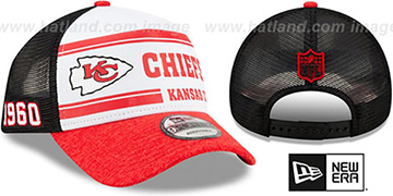 Chiefs ONFIELD STADIUM 100 TRUCKER SNAPBACK Hat by New Era