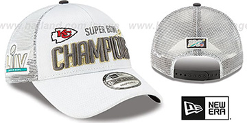 Chiefs SUPER BOWL LIV CHAMPS LOCKER ROOM Hat by New Era
