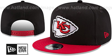 Chiefs TEAM-BASIC SNAPBACK Black-Red Hat by New Era