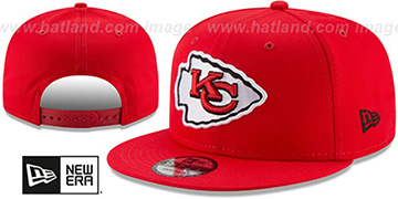 Chiefs TEAM-BASIC SNAPBACK Red Hat by New Era