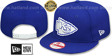 Chiefs 'TEAM-BASIC SNAPBACK' Royal-White Hat by New Era