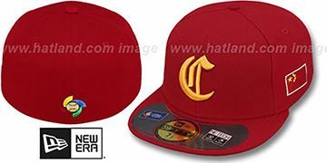 China PERFORMANCE WBC Red Hat by New Era