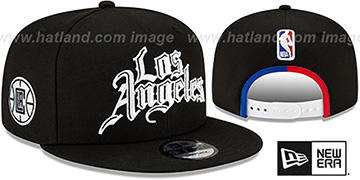 Clippers 20-21 CITY-SERIES SNAPBACK Black Hat by New Era