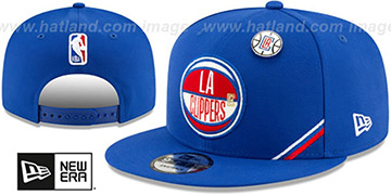 Clippers 2019 NBA DRAFT SNAPBACK Royal Hat by New Era