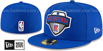 Clippers '2020 NBA TIP OFF' Royal Fitted Hat by New Era