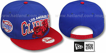 Clippers 'CHALK-UP HERO SNAPBACK' Royal-Red Hat by New Era
