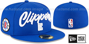 Clippers ROPE STITCH DRAFT Royal Fitted Hat by New Era