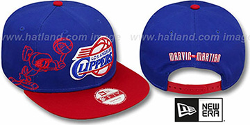 Clippers 'SIDE-TEAM' MARVIN MARTIAN SNAPBACK Hat by New Era