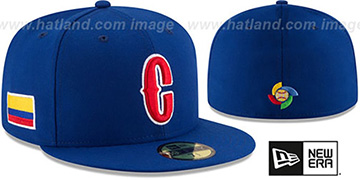 Colombia 'PERFORMANCE WBC-2' Royal Hat by New Era