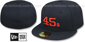 Colt .45s '1962-64 COOPERSTOWN' Fitted Hat by New Era