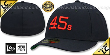 Colt .45s LOW-CROWN 1962-64 COOPERSTOWN Fitted Hat by New Era