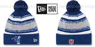 Colts '2014 THROWBACK STADIUM' Knit Beanie Hat by New Era