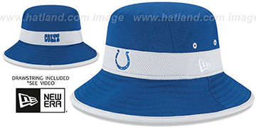 Colts '2015 NFL TRAINING BUCKET' Royal Hat by New Era