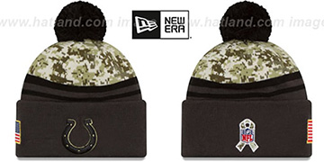 Colts 2016 SALUTE-TO-SERVICE Knit Beanie Hat by New Era
