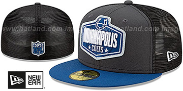 Colts 2021 NFL TRUCKER DRAFT Fitted Hat by New Era