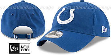 Colts CORE-CLASSIC STRAPBACK Royal Hat by New Era