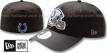 Colts NFL BLACK-CLASSIC FLEX Hat by New Era