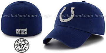 Colts NFL FRANCHISE Royal Hat by 47 Brand