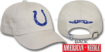 Colts 'SKETCH' Hat by American Needle - stone