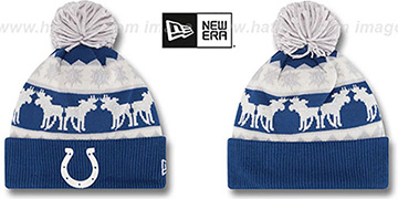 Colts THE-MOOSER Knit Beanie Hat by New Era