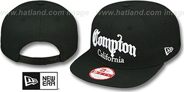 Compton 'ARCH SOCAL SNAPBACK' Black Hat by New Era