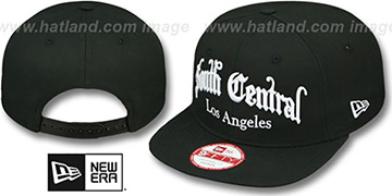 Compton 'ARCH SOUTH CENTRAL SNAPBACK' Black Hat by New Era