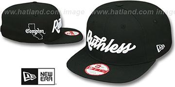 Compton 'RUTHLESS SOCAL SNAPBACK' Black Hat by New Era