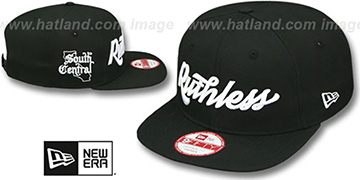 Compton 'RUTHLESS SOUTH CENTRAL' Black Hat by New Era