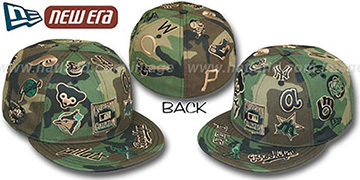 Cooperstown ARMY CAMO 'ALL-OVER' Fitted Hat by New Era