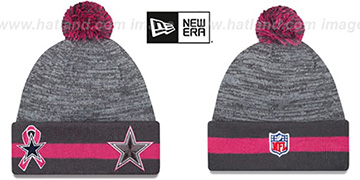 Cowboys 2015 BCA Knit Beanie Hat by New Era