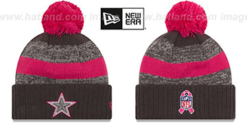 Cowboys 2016 BCA STADIUM Knit Beanie Hat by New Era