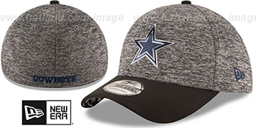 Cowboys '2016 MONOCHROME NFL DRAFT FLEX' Hat by New Era