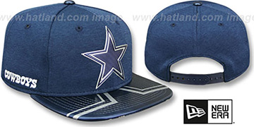 Cowboys '2017 NFL ONSTAGE SNAPBACK' Hat by New Era